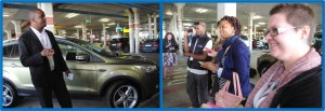 Kuda introducing the all new Kuga to the gathered bloggers and journos