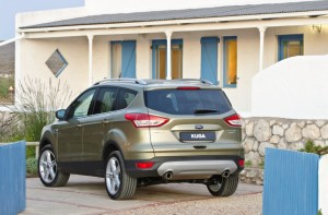 The Ford Kuga (official photo)
