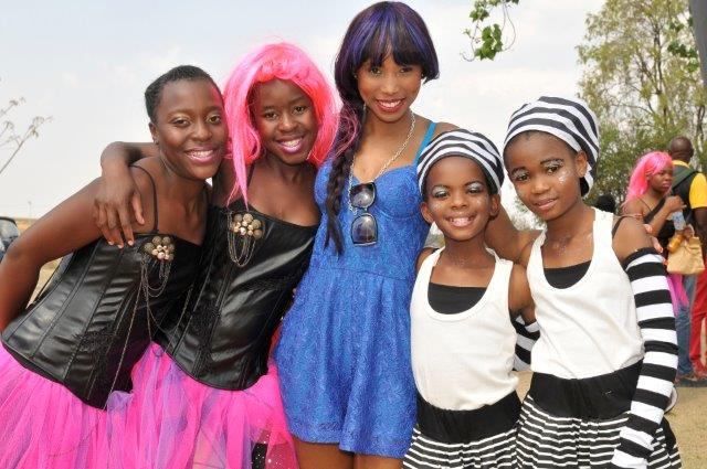 Kids with Denise Zimba from V-Entertainment